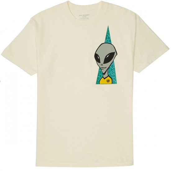 Alien Workshop Visitor T-Shirt - Cream