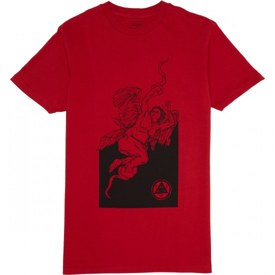 Welcome Seraphim T-Shirt - Red/Black