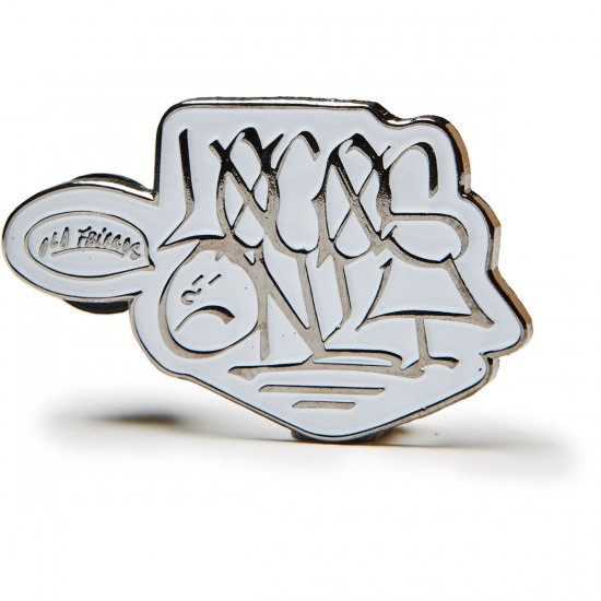 Old Friends Locos Only Pin - Silver