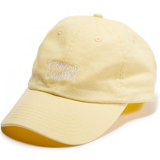Pyramid Country Lemon Hat - Yellow