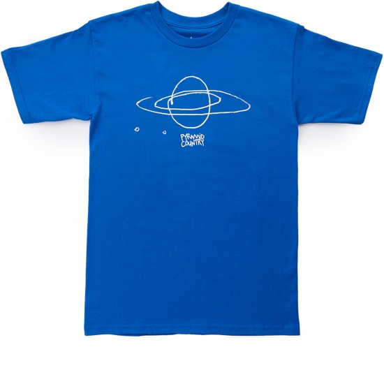 Pyramid Country Sun Ra T-Shirt - Blue