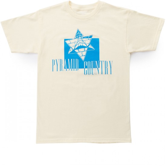 Pyramid Country Alien Inversion T-Shirt - Yellow