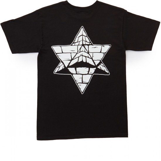 Pyramid Country Distant Mind Terrain T-Shirt - Black