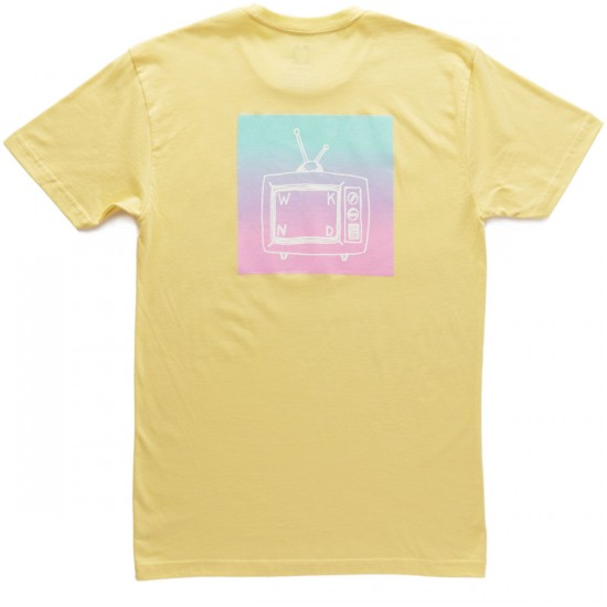 WKND Gradient T-Shirt - Soft Yellow