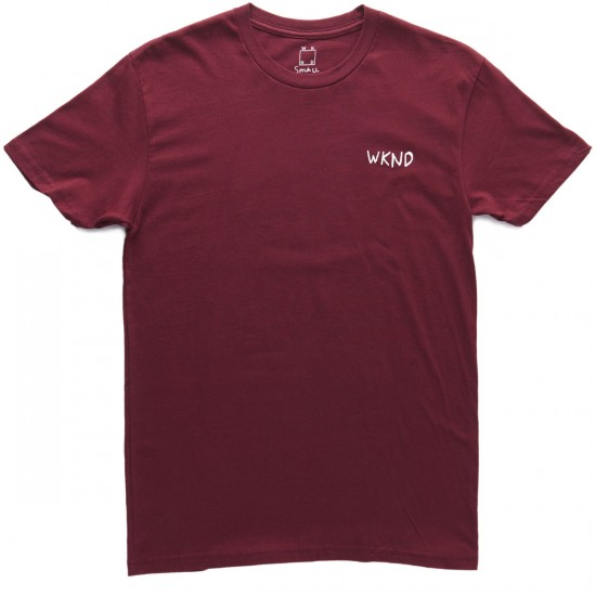 WKND Sketchball T-Shirt - Wine
