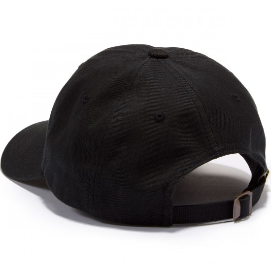 Lowcard The Deuce Polo Hat - Black