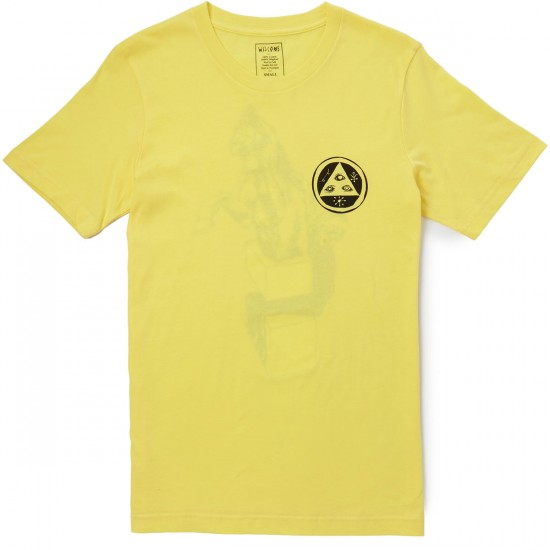Welcome Heirophant T-Shirt - Yellow