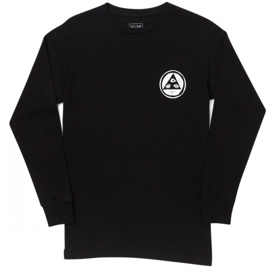 Welcome Adaptation Long Sleeve T-Shirt - Black
