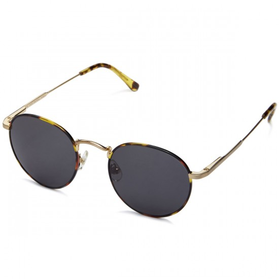 Crap The Tuff Patrol Sunglasses - Jungle Tortoise Rims/Brushed Gold Wire