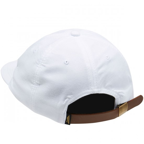 Benny Gold Glider Oxford Polo Hat - White