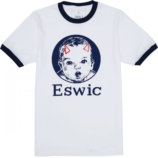 Eswic Baby Face T-Shirt - White