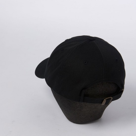 Welcome Tonal Scrawl Unstructured 6-Panel Hat - Black