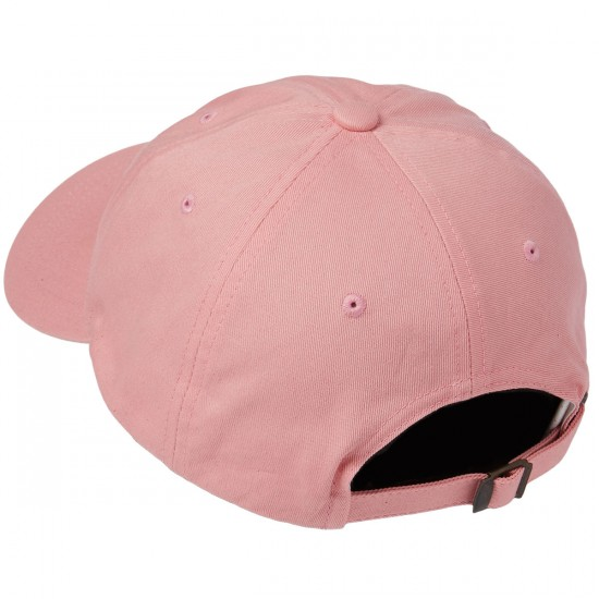 Welcome Tonal Scrawl Unstructured 6-Panel Hat - Pink