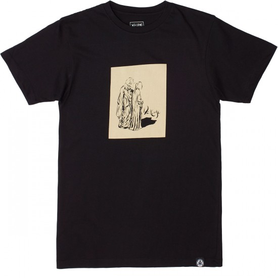 Welcome Shrouded T-Shirt - Black