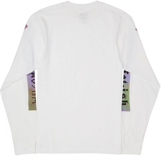 Welcome Fetish Long Sleeve T-Shirt - White