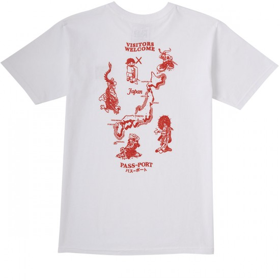 Passport Japan T-Shirt - White