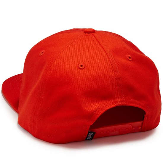 Skate Mental Quick Lube Hat - Red Canvas