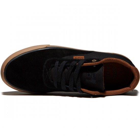 State Madison Shoes - Black/Gum Suede