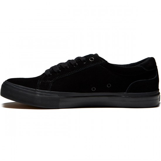 State Hudson Shoes - Black/Black Suede - 8.0