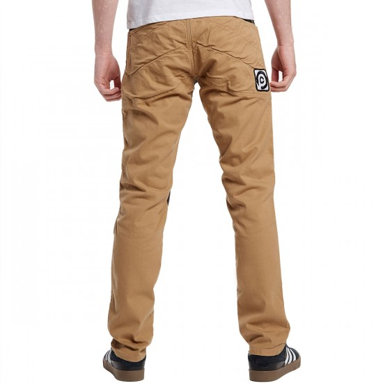 Push Culture Crash Pants - Brow - 30 - 32