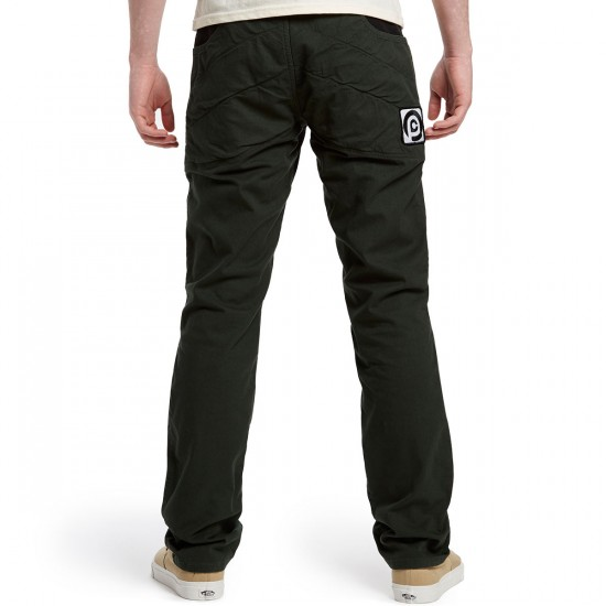 Push Culture Crash Pants - Dark Green - 30 - 32