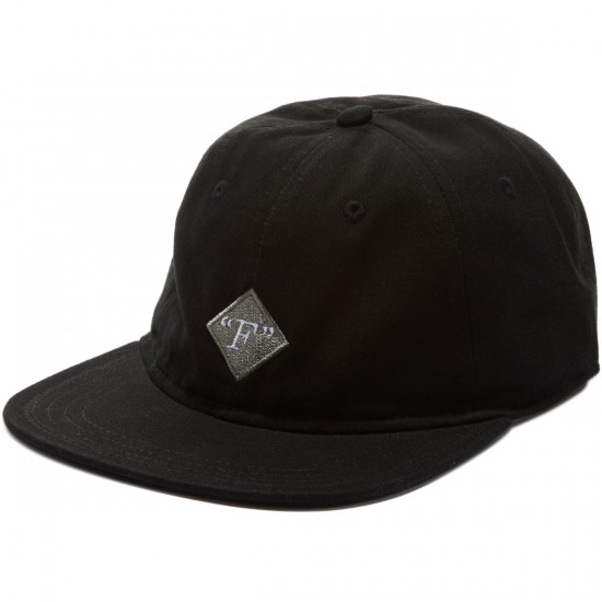Format Fields 5 Panel Hat - Black