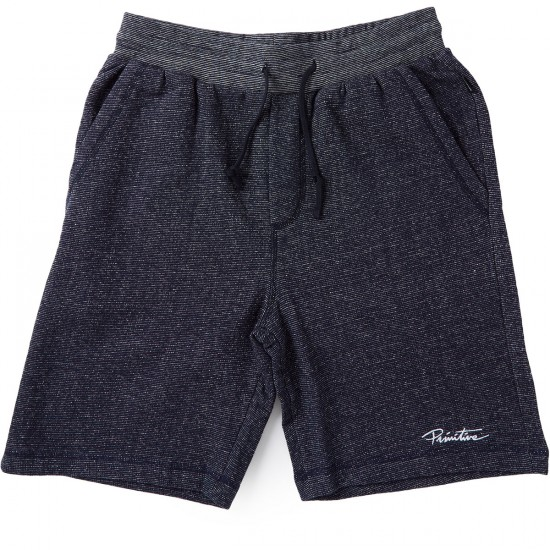 Primitive Fleece Shorts - Midnight