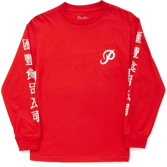 Primitive x Huy Fong Foods Long Sleeve T-Shirt - Red