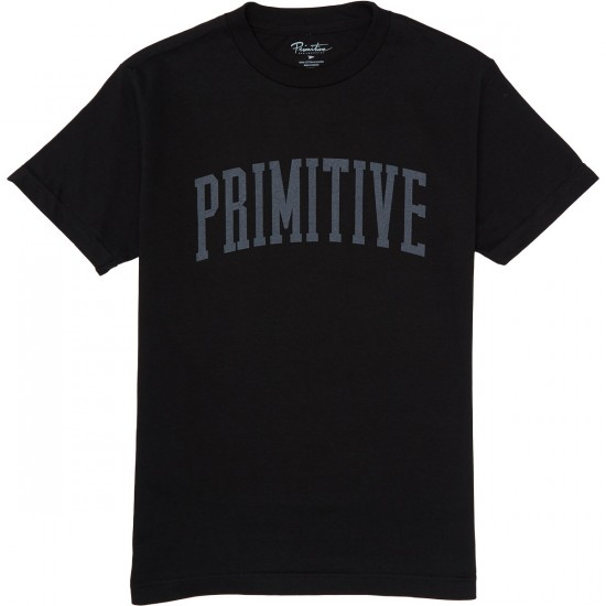 Primitive Collegiate Arch T-Shirt - Black