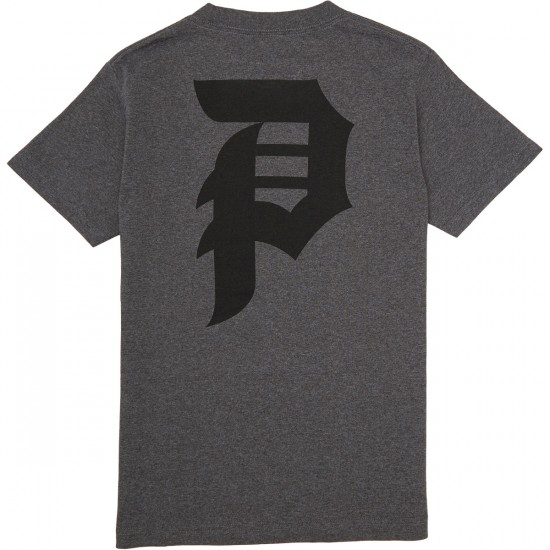 Primitive Dirty P T-Shirt - Charcoal Heather