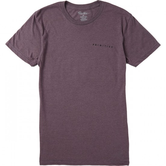 Primitive Elevate Light Weight T-Shirt - Purple