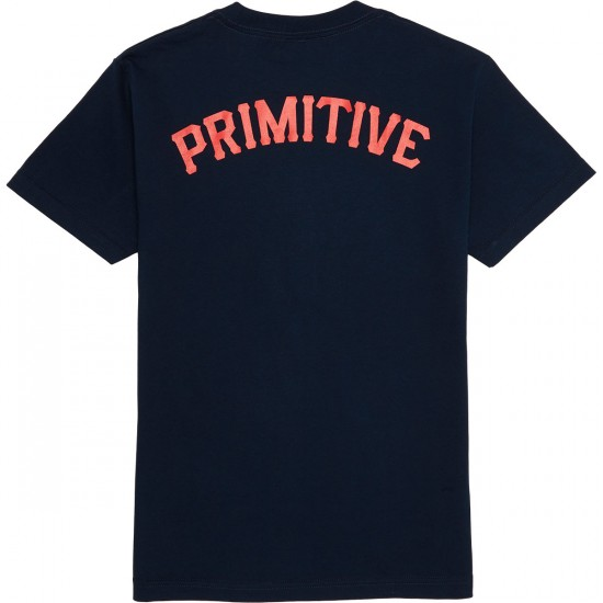 Primitive Slab Arch T-Shirt - Navy
