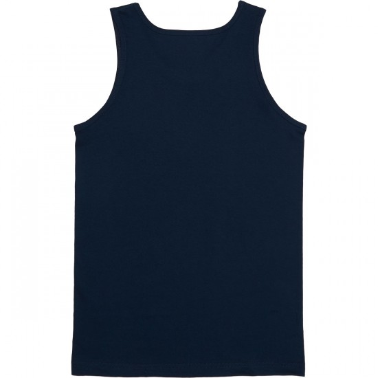 Primitive Heres To The Memories Tank Top - Navy