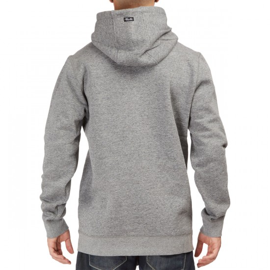 Primitive Arched Pullover Hoodie - Grey Heather