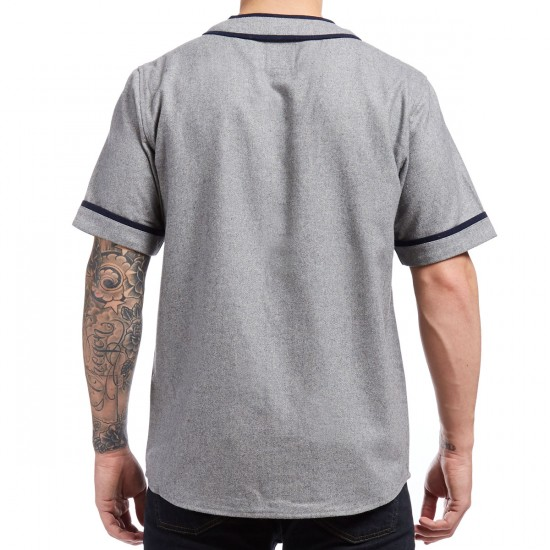 Primitive Coopers Baseball Jersey - Grey Heather