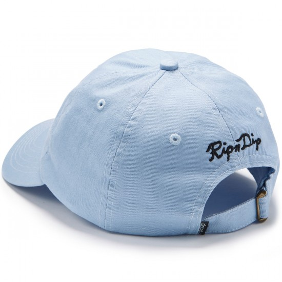 Rip N Dip Castanza Six Panel Hat - Light Blue