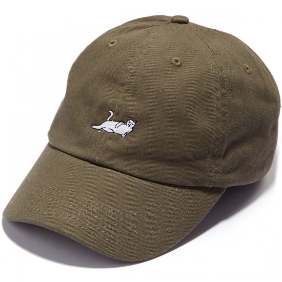 Rip N Dip Castanza Six Panel Hat - Olive