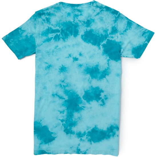 Rip N Dip Lord Nermal Pocket T-Shirt - Turquoise Lightning Wash