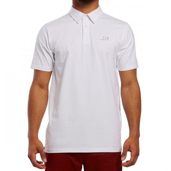 RIPNDIP Castanza Polo Shirt - White