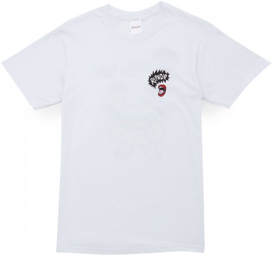 Rip N Dip How High T-Shirt - White