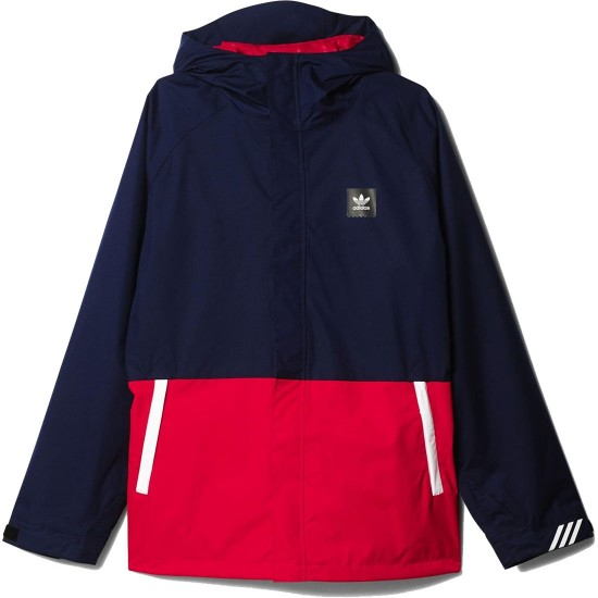 Adidas 10K Riding Snowboard Jacket - Navy