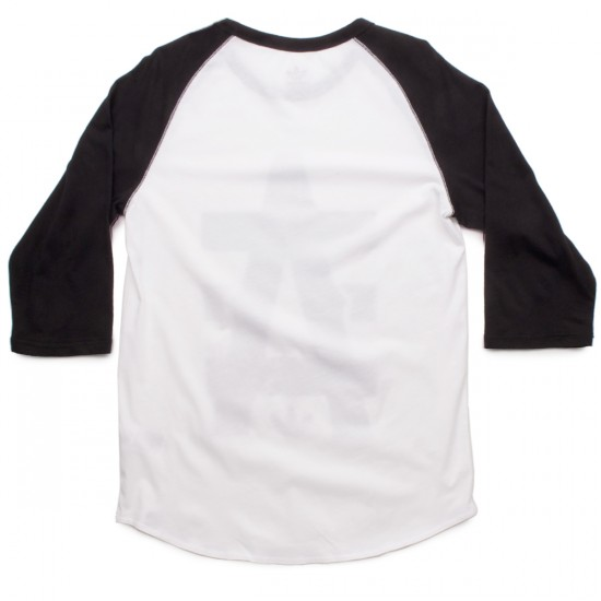 Adidas A Baseball T-Shirt - White/Black