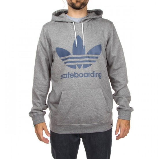 Adidas Adv Hoodie - Core Heather/Faded Ink