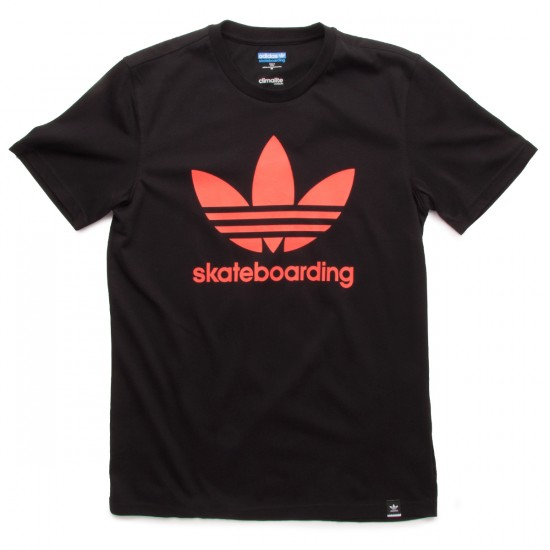 Adidas ADV SLR Red T-Shirt - Black