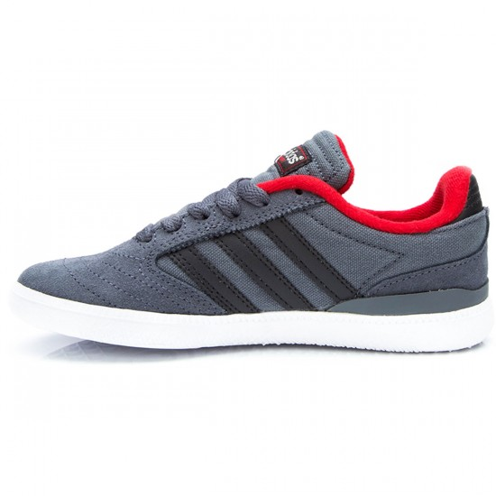 Adidas Busenitz J Kids Shoes - Onix/Carbon/Red - 1.0