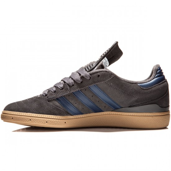 Adidas Busenitz Shoes - Grey/Navy/Gum - 7.0
