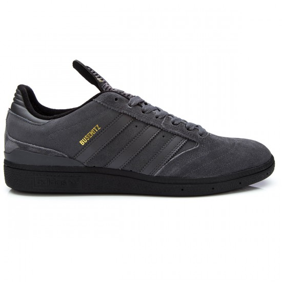 Adidas Busenitz Shoes - Grey/Grey/Black - 6.0