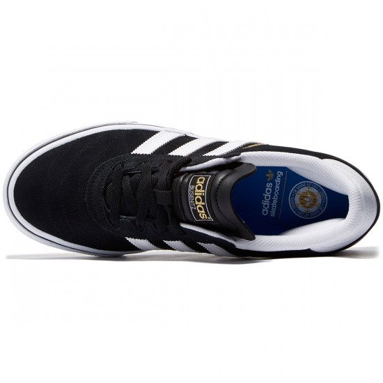 Adidas Busenitz Vulc Shoes - Black/White/Black - 9.5
