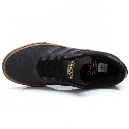 Adidas Busenitz Vulc Shoes - Grey/Black/Gold Metallic - 10.0