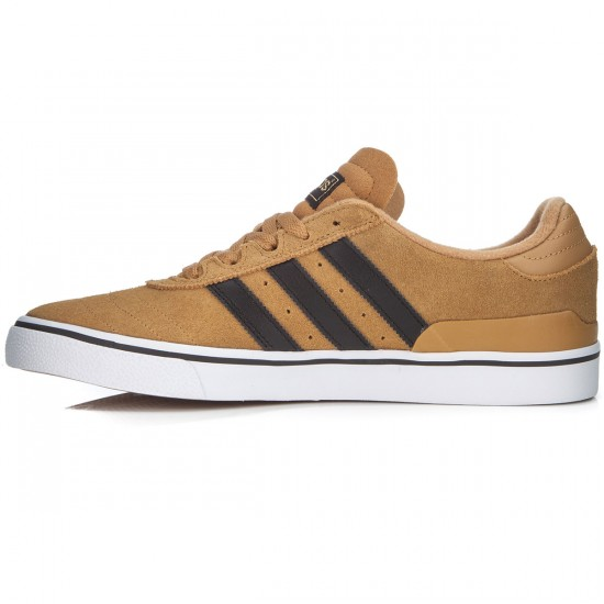 Adidas Busenitz Vulc Shoes - Tan/Black/White - 7.0